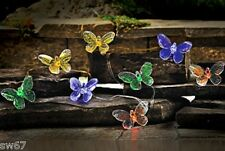 10 PIECE Battery operated LED LIGHTS - BUTTERFLY 7 Feet Long butterflies New
