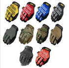 New Full Finger Work Mechanix Protech Motors Sports Racing Game Outdoor Gloves