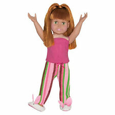 """SF Springfield STRIPED PAJAMA SET for 18"""" American Girl Dolls Clothes NEW"""