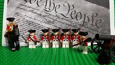 LEGO Revolutionary War Redcoat British Soldiers NEW 100% Genuine LEGO PLZ READ