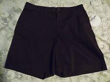 Liz Claiborne Women's Classic Chino Dark Rum Brown Bermuda Shorts Size 6  NWT