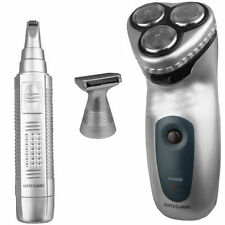3 IN 1 CLASSIC GENTS SHAVER NOSE HAIR EAR TRIMMER REMOVER WITH CARRY CASE RECHAR