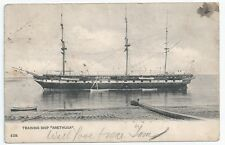 HMS ARETHUSA Training Ship Royal Navy Used Postcard 1905