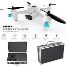 Hubsan 107C+ Plus X4 Camera 2.4G 4CH RC Quadcopter Drone HD Camera+Carrying Case