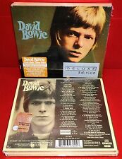 2 CD DAVID BOWIE - SAME - SELF TITLED - S/T - DELUXE - SEALED SIGILLATO