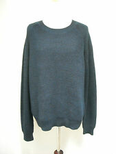3.1 Philip Lim Navy Blue Chunky Knit Sweater M Final