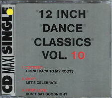 12 INCH DANCE CLASSICS VOL.10 - CD MAXI 3 TRACKS [635]