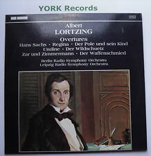 6.220310 - LORTZING - Overtures - Berlin RSO / Leipzig RSO - Ex Con LP Record