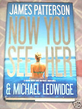 Book for Sale: Now You See Her by James Patterson [Hardcover]
