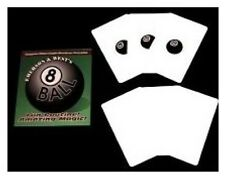EIGHT BALL BY EMERSON & WEST MAGIC BICYCLE CARD PACKET TRICKS GIMMICK GAFF