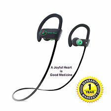 Bluetooth Headphones Joyful Heart-JH-800 Wireless Sports earbuds 100% Waterproof