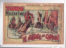 ZORRO MAGAZINE n°15. Le passage du canyon. SNPI 1950. NORTIER