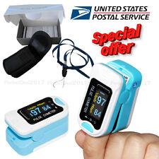 FDA CMS50N Fingertip Pulse Oximeter Spo2 Monitor Pulse Rate Oxygen Heart Rate PR