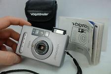 Voigtländer Virtus 35mm Point & Shoot Film Camera FILM TESTED FROM GERMANY MINT