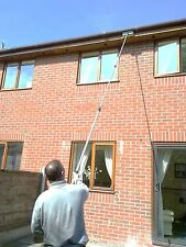 12FT 7 INCH WATER FED TELESCOPIC WINDOW CLEANING POLE BRUSH CONSERVATORY  CLEAN