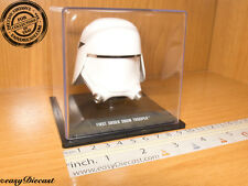 FIRST ORDER SNOWTROOPER STAR WARS HELMET CASCO CASQUE 1/5 MINT WITH CASE!!
