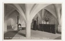 Sussex, The Undercroft, Michelham Priory, nr. Hailsham Postcard, A784