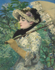 Manet Edouard The Spring Print 11 x 14  #5797