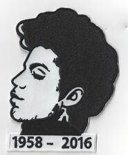 LARGE12 cms x 9cms  PRINCE TRIBUTE IRON ON PATCH BUY 2 GET 1 FREE = 3 of these.