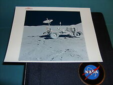 NASA APOLLO 15 EVA VINTAGE PHOTO RED SERIAL #AS15-88-11901