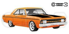 Chrysler Valiant VG Pacer Hemi 2Door - Orange with Momos
