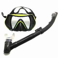 Adult Professional Scuba Snorkelling Freediving / Diving Mask Dry Snorkeling Set