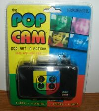 POP CAM 35MM LOMOGRAPHY SPECIAL FX CAMERA NEW 1 CLICK=4 PHOTOS=4 COLORS=1 PRINT