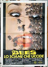 manifesto 2F orig. BEES LO SCIAME CHE UCCIDE Gretchen Corbett Bruce Geller 1978