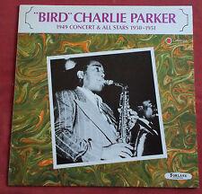 """CHARLIE PARKER """" BIRD """"  LP FR ORIG 1949 CONCERT & ALL STARS  1950  FORLANE"""
