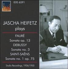 Jascha Heifetz Spielt Französische Musik, New Music