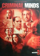 CRIMINAL MINDS The COMPLETE THIRD SEASON 20 Episodes + Special Features SEALED