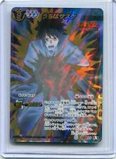 NARUTO JAPANESE card carte Miracle Battle carddass Super Omega 18 Sasuke