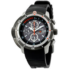 Citizen Eco-Drive Promaster 44mm Depth Meter Chronograph Men's Watch BJ2128-05E