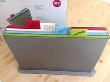 Joseph Joseph Index Advance large Colour Coded chopping Boards:5 Pc Set