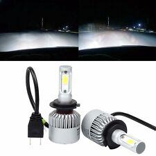 LED H7 Headlight Conversion 80W 8000LM COB 6500K White Light Bulbs Waterproof