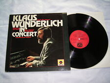 LP - Klaus Wunderlich in Concert - MINT 1980 # cleaned