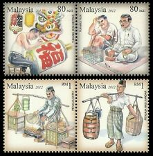 Traditional Livelihood Malaysia 2012 Culture Lifestyle Past Time (stamp) MNH