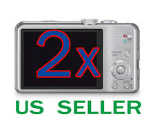 2x Clear LCD Screen Protector Guard Film For Panasonic Lumix DMC-ZS20 Camera