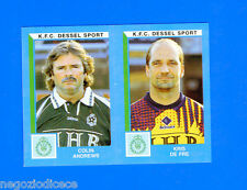 FOOTBALL 2000 BELGIO Panini-Figurina -Sticker n. 418 - K.F.C DESSEL SPORT -New