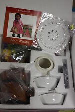 American Girl Addy's Ice Cream Set Complete New in Box RETIRED Cherry pie !!