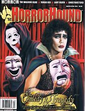 Horrorhound #52 March/April 2015 Walking Dead Ghostbusters humorous horror
