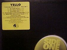 Yello Tremendous Pain 5 Mixes US Dj 12""