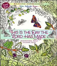 This Is the Day the Lord Has Made Inspirational Adult Coloring Book (Travel