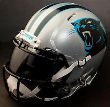 ***CUSTOM*** CAROLINA PANTHERS NFL Riddell Revolution SPEED Football Helmet