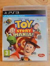 Toy Story Mania (Sony PlayStation 3 PS3 Disney Move Game, 2012) Fast Free Post