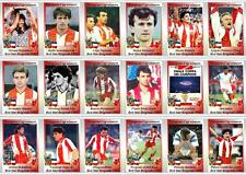 Red Star Belgrade European Cup winners 1991 football trading cards