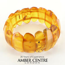 Butterscotch Antique Genuine German Yellow Amber Bracelet W138- RRP £375
