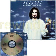 """SCIALPI """"BOOM BOOM / SESSO O ESSE"""" RARO CDsingolo 1992 PROMO"""