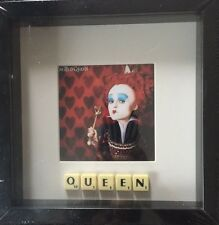 Alice In Wonderland Queen Scrabble Picture Brand New Can Personalise