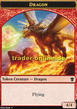Token - Dragon (Spielstein - Drache) Dragons of Tarkir Magic